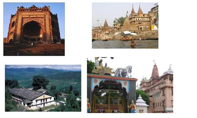 Uttar Pradesh Temples, Temples in India