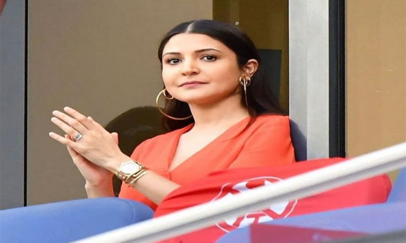 Anushka Sharma at Dubai International Stadium
