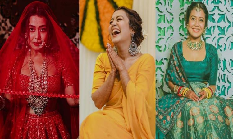 Neha Kakkar-Wedding-Looks