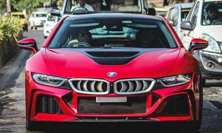 Sachin Tendulkar, BMW i8