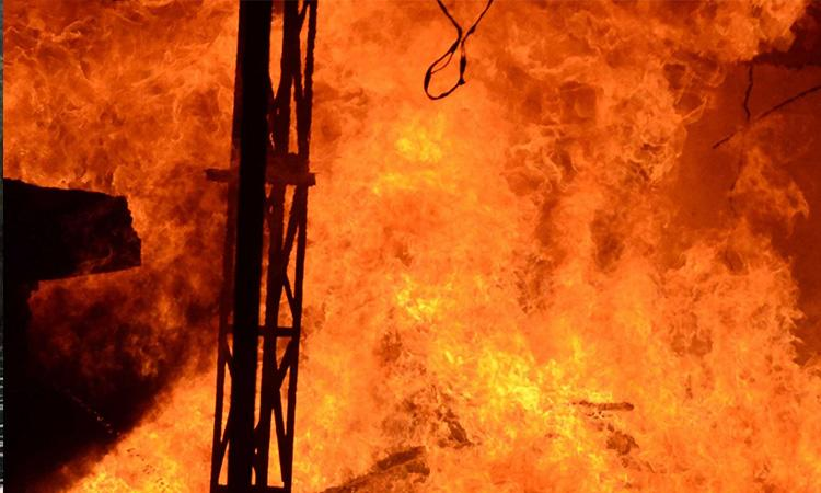UP: Man dies after being set ablaze by own family