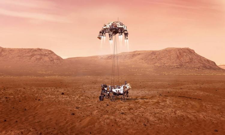 NASA's moonlander