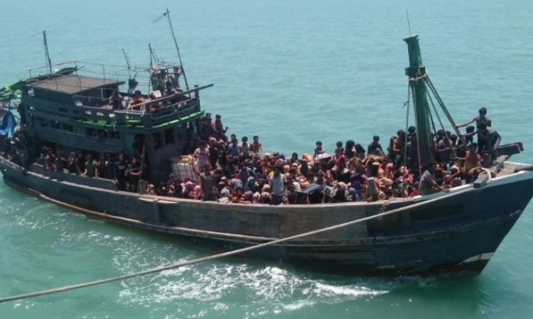Rohingyas on high seas