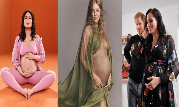 Maternity fashion the celebrity way