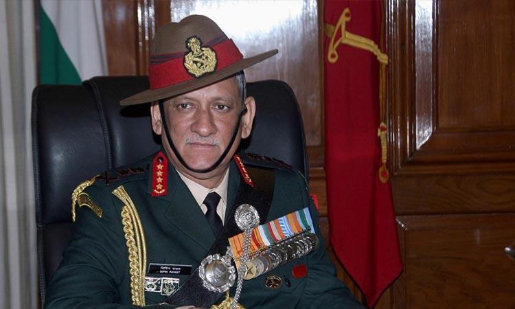 General Bipin Rawat-China-India-Cyber attacks