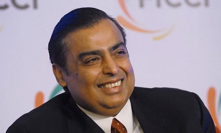 Mukesh Ambani-Richest person in India-India-Business