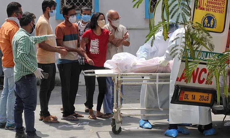 Delhi-Covid 19-Highest single day death toll