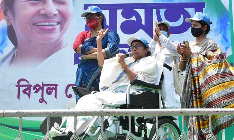West Bengal, Mamta Banerjee, West Bengal Election, West Bengal Assembly Election, Mamata emerges as contender on national political stage, west Bengal election results