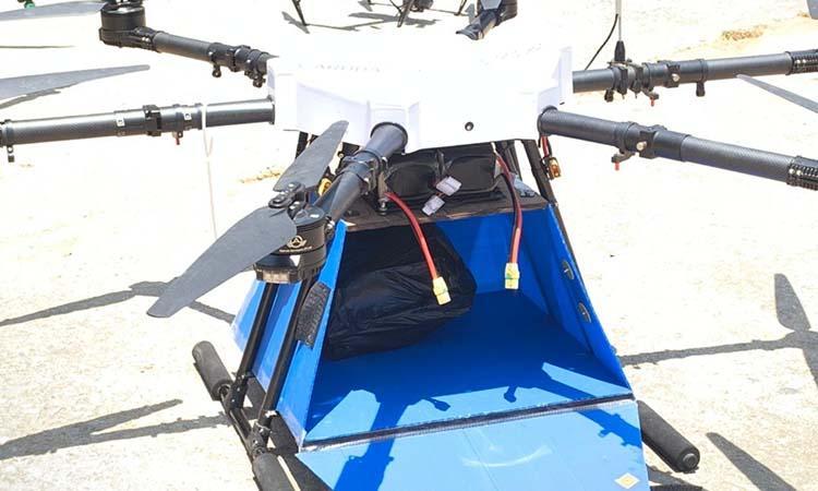 Covid 19-iSRO-Sriharikota-Science-Garuda Drones