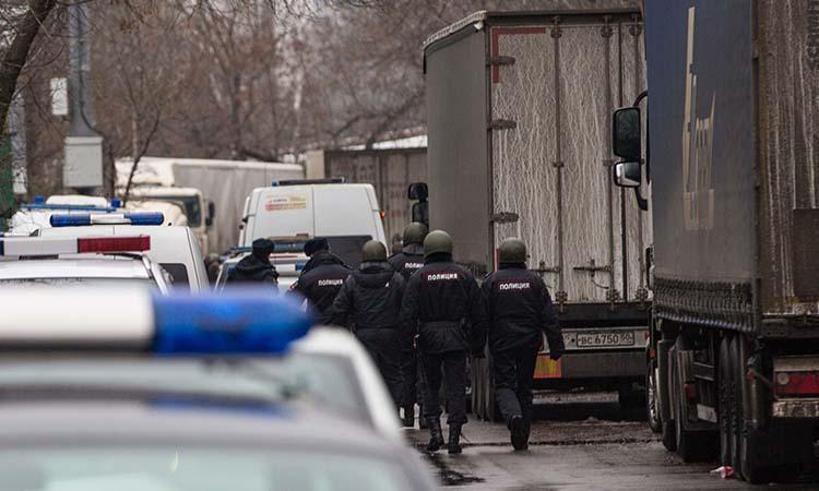 Russia-Russian Police
