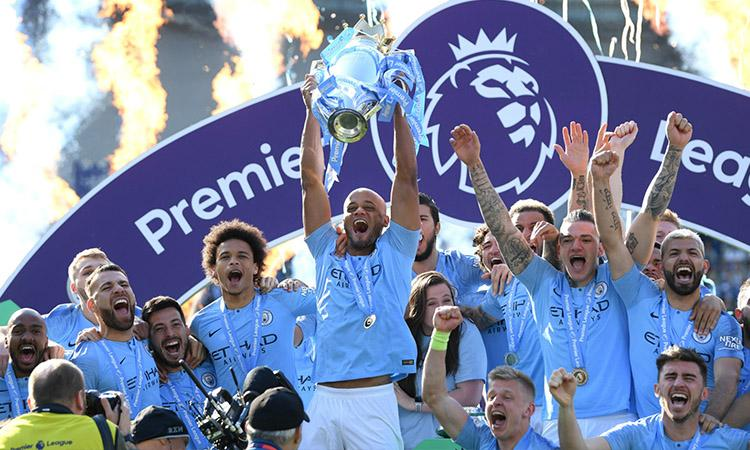 Manchester City, Premier League champions, Premier League title, Manchester City crowned Premier League champions, Premier League finals