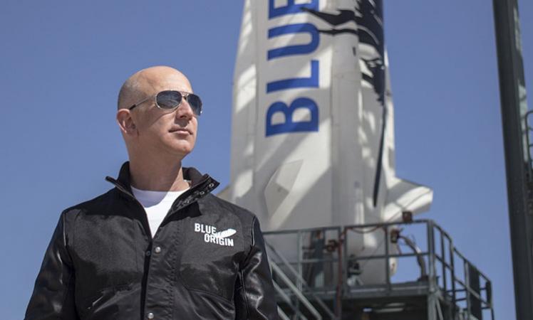 Jeff Bezos, Blue Origin, Blue Origin spacecraft, People bid over $2mn for first ride on Blue Origin's spaceship, Space travel