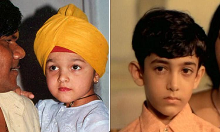 Bollywood, Bollywood actors,Bollywood Actors who started their career as a child artist, Sridevi, Alia bhat, Aamir Khan, Sanjay Dutt, Rishi Kapoor, Hrithik Roshan