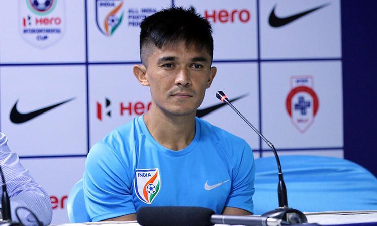 Indian football team, Sunil Chhetri, Indian Football match, Indian football team should fight like bees do: Captain Chhetri