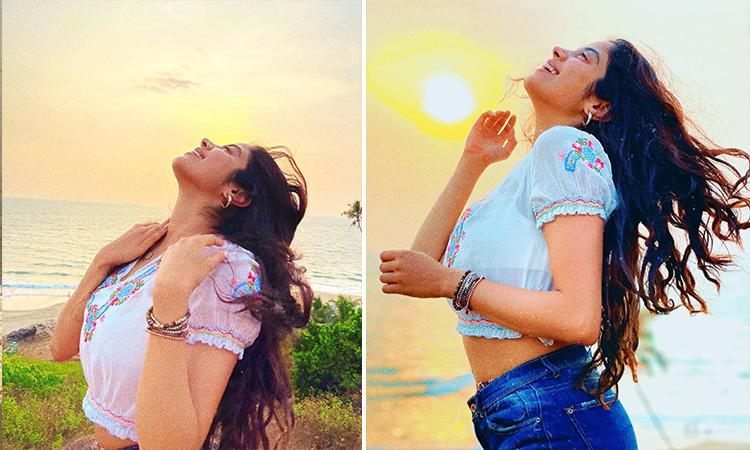 """Bollywood, Janhavi Kapoor, Janhavi Kapoor latest pictures, Janhavi Kapoor latest movie, Janhvi Kapoor's """"Wildflower Wildlife"""" trip is all about beaches and sunsets, check out pics"""