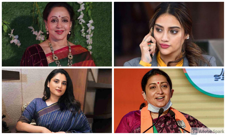 10 Indian actresses who became successful parliamentarians
