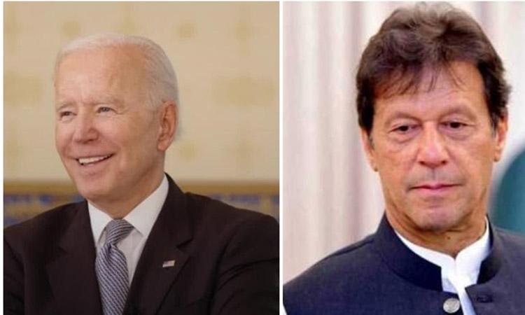 Joe-Biden - Imran-Khan