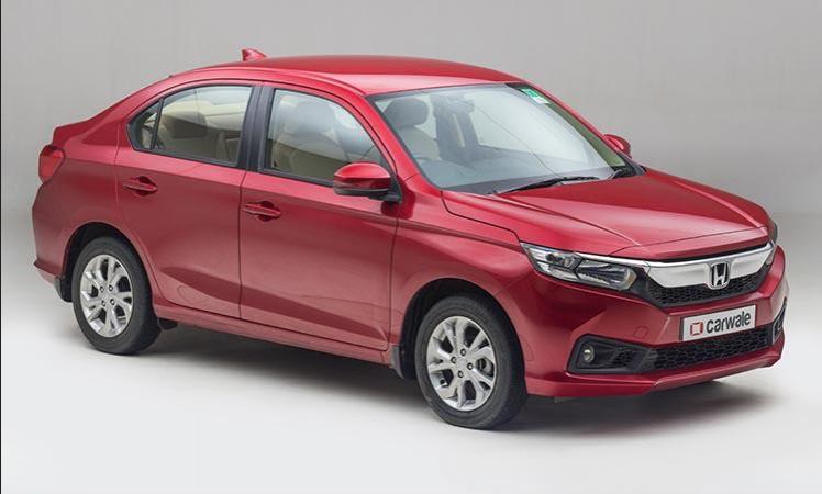 Honda Amaze 2021 Facelift-Honda