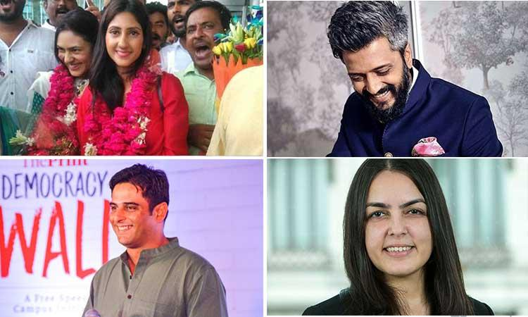 10 attractive offsprings of Indian politicians