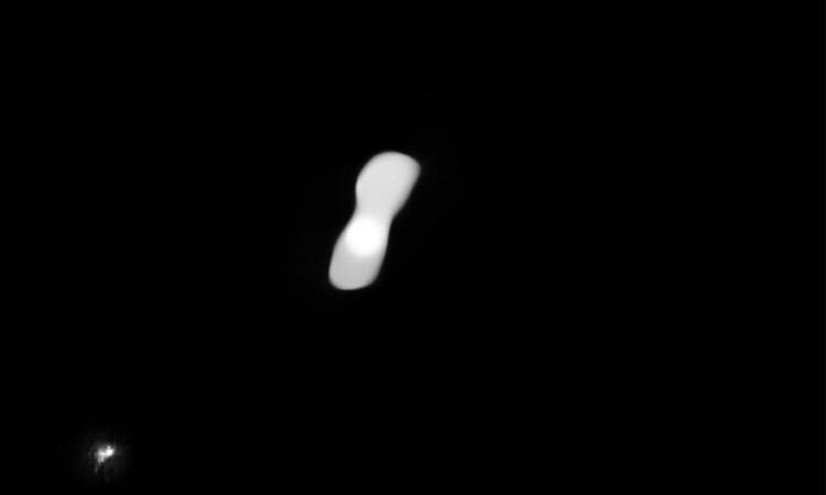'dog-bone' -asteroid