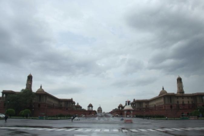 Delhi-rainfall