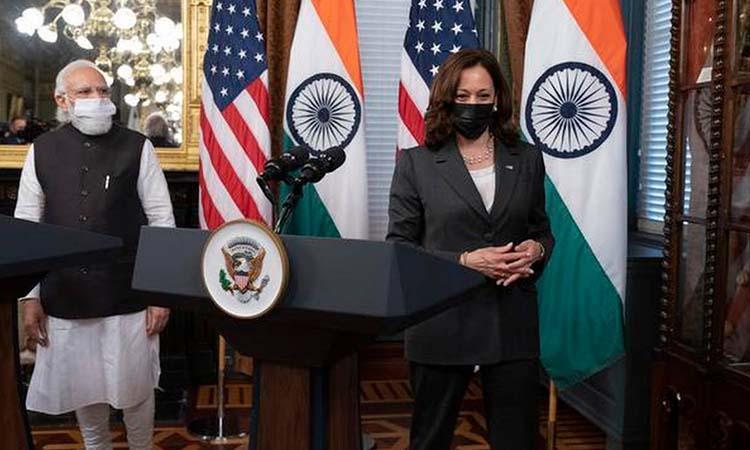 Kamala Harris-PM Modi
