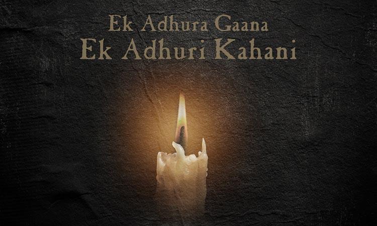 Adhura song poster