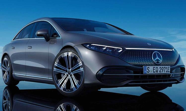 Mercedes-EQS-Electric car